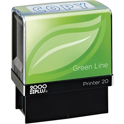 2000 PLUS® Green Line Message Stamps, COPY