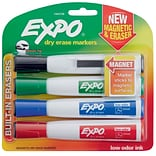 Expo Dry Erase Markers Chisel Assorted 4pk