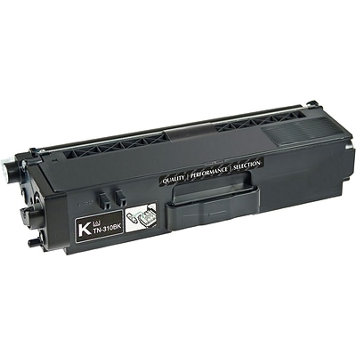 Quill Brand Remanufactured Toner Cartridge Brother TN310 Black (100% Satisfaction Guaranteed)