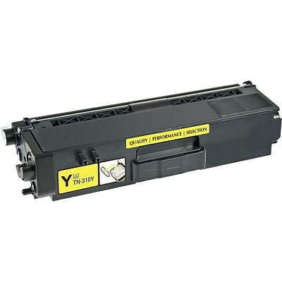 Quill Brand Remanufactured Toner Cartridge Brother TN310 Yellow (100% Satisfaction Guaranteed)