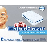 Magic Eraser® Kitchen Scrubber w/Dawn® 2-Pk