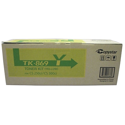 Kyocera KYOTK869Y Yellow Toner Cartridge