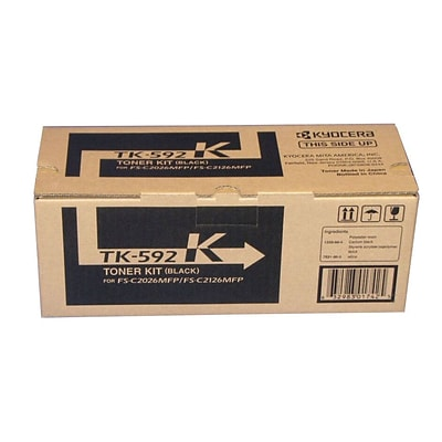 Kyocera KYOTK592K Black Toner Cartridge