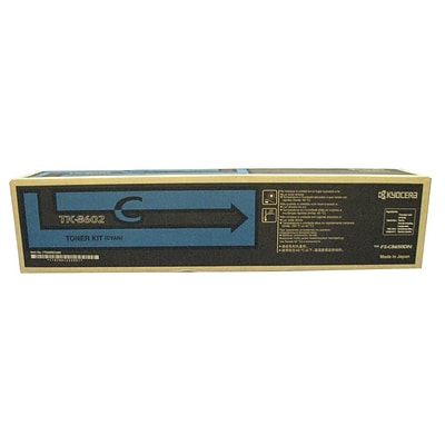 Kyocera TK8602C Cyan Toner Cartridge
