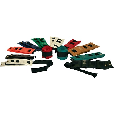 The Original Cuff® Ankle and Wrist Weight; 20-Piece Set
