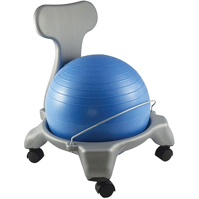 CanDo® 20 Ball Plastic Chair with Back; Child Size