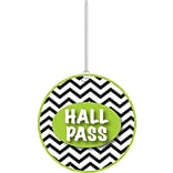 Ashley 4 Soft Rubber Chevron Hall Pass