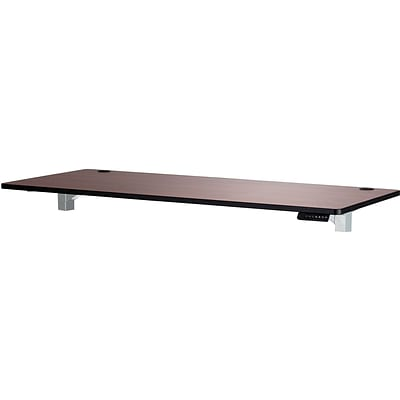 SAFCO® 72 x 30 Top for Height-Adjustable Table; Cherry