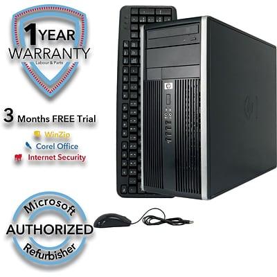 HP Compaq 6200 Pro Refurbished Desktop Computer, Intel Core i5 3 1GHz, 8GB  Memory, 2TB HD