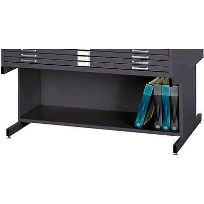 SAFCO® High Base for 4996 and 4986 Flat File Cabinet; Black