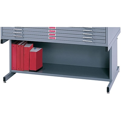 SAFCO® High Base for 4996 and 4986 Flat File Cabinet; Gray