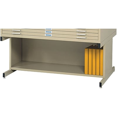 SAFCO® High Base for 4996 and 4986 Flat File Cabinet; Tropic Sand