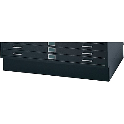 SAFCO® Closed Base for 4994 Flat File Cabinet; Black