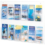 SAFCO® Clear2c™ 12 Pamphlet Display