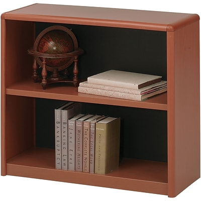 SAFCO® 2-Shelf ValueMate® Economy Bookcase; Cherry