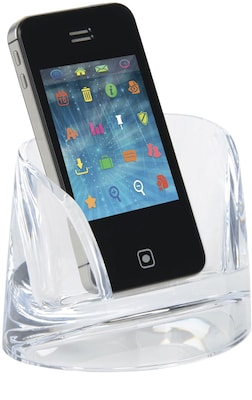 Stratus Acrylic Mobile Phone Holder, Clear (S7010139)