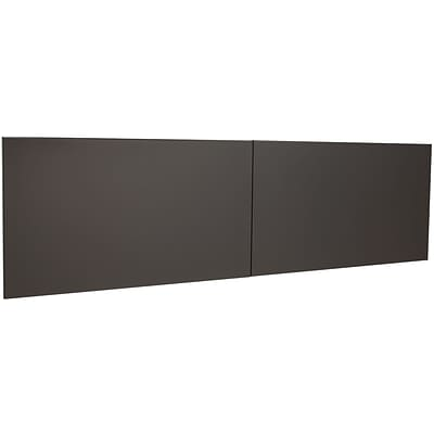 Quill Brand® Modular Desk Door Kit for 60 Hutch; Charcoal