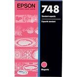 Epson 748 Magenta Ink Cartridge, Standard Yield