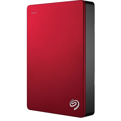 Seagate STDR5000103 5TB USB 3.0 Back Up Plus Portable Drive Red (STDR5000103)