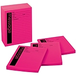 Post-it® Telephone Message Pads, 4 x 5, Pink, Lined, 12 Pads/Pack (7662-12-SS)