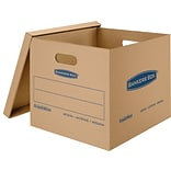 Bankers Box® SmoothMove Classic Moving Boxes, 18L x 15W x 14H Medium, 8/PK (7717201)