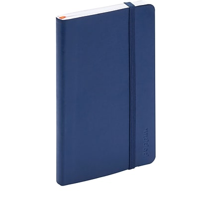 Poppin Navy Small Softcover Notebooks, Set of 25