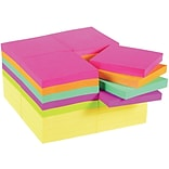 Post-it® Flat Notes, 3 x 3, Cape Town Collection; 36 Pads/Pack