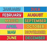 Hygloss® Monthly Calendar Cards, 12/Pkg