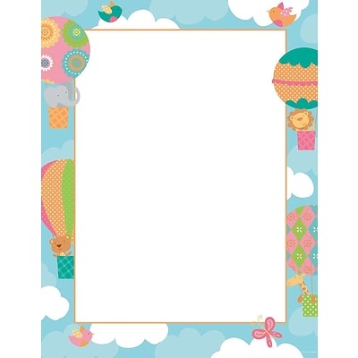 Great Papers! Baby Balloon Letterhead, 8.5 x 11, 80 count (2014128)