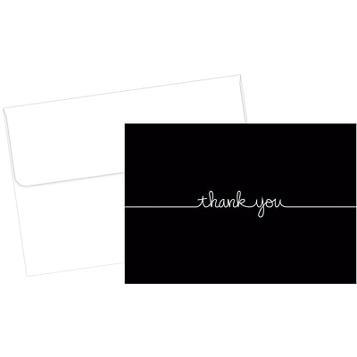 Great Papers! Grace Thank You Note Card, 4.875 x 3.375, 50 count (2015072)
