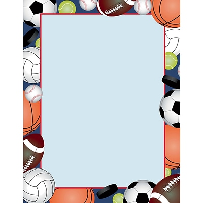 Great Papers! Team Sports Letterhead 8.5x11, 80 count 2015030