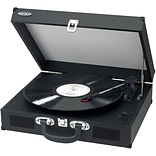 Portable 3 Speed Stereo Turntable w/Speaker