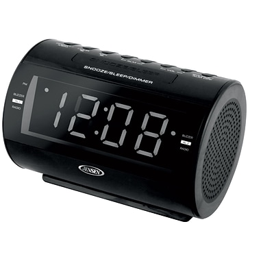 AM/FM Dual Alarm Clock Radio with Nature Sounds