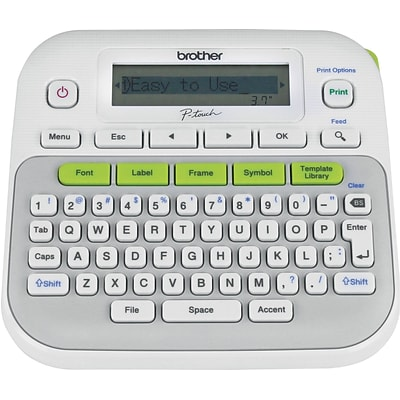 Brother P-touch PT-D210 Refurbished Label Maker