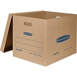 Bankers Box® SmoothMove Classic Moving Box, Large,  21W x 17D x 17H, 5/Pack (7718201)