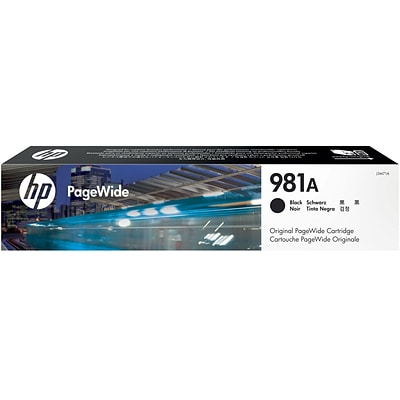 HP 981A Black PageWide Ink Cartridge (J3M71A)
