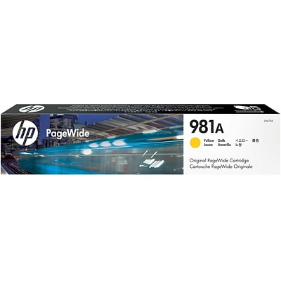 HP 981A Yellow PageWide Ink Cartridge (J3M70A)