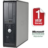 Dell™ Refurbished 755 Desktop PC; 4GB RAM, 250GB