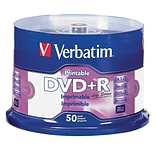 VERBATIM DVD+R 4.7GB PRINTABLE