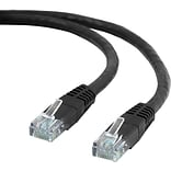 25 CAT6 Ethernet Networking Cable, Black