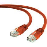 7 CAT 5e Ethernet Networking Cable, Red