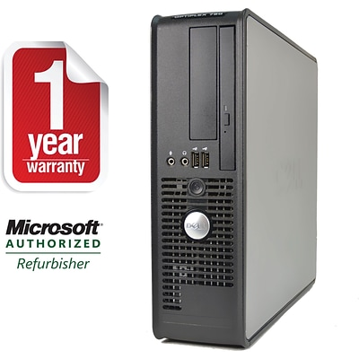 Dell Optiplex 760 Windows 10 Pro Refurbished Desktop PC, 4GB RAM, 320GB HD