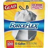 Glad Force Flex 13-Gallon Trash Bags