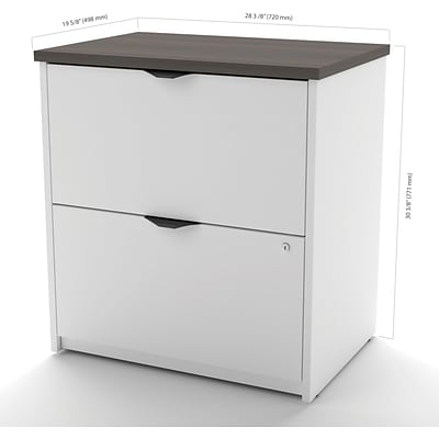 Innova Lateral File in White and Antigua
