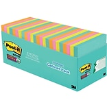Post-it® Super Sticky Notes, 3 x 3, Miami Collection, 24 Pads/Pack (654-24SSMIA-CP)