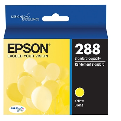 Epson T288 Yellow DuraBrite Ultra Ink Cartridge, (T288420)
