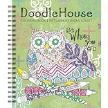 Lang Doodle House Coloring Book