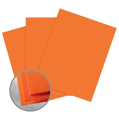 Astrobrights Smooth Color Paper, 8.5 x 11, 60# Text, Cosmic Orange, 5000/CA