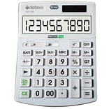 Datexx® Hybrid Powered Desk Size Calculator