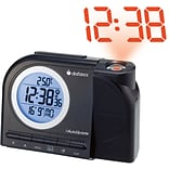 Datexx ExactTime Projector Clock; Black